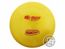 New Innova Gstar Boss 162g Yellow Red Foil Distance Driver Golf Disc
