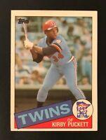 1985 Topps Kirby Puckett Minnesota Twins ROOKIE Baseball Card (MINT)