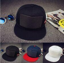 UK Fashion Men's Bboy Adjustable Baseball Cap Snapback Cool Sports Hip-hop Hats
