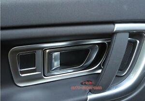 Chrome Interior Door Handle Cover Frame Trim land rover Discovery Sport 2015 16