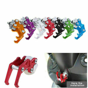 1PC Aluminum Motorcycle Scooter Luggage Helmet Bag Carry Hanger Hook Accessories