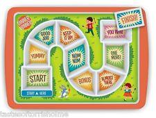 Fred Dinner Winner Tray Childrens Lunch Tea Dinner Board Game Kids Meal Plate