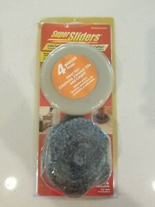 NEW Waxman 5 inch Super Sliders...4 Hard Sliders & 4 Protection Pads..in sealed