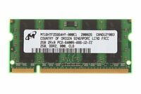 2GB DDR2 Laptop Memory HP Part# 480382-001 482169-001 483194-001 483233-001 UK
