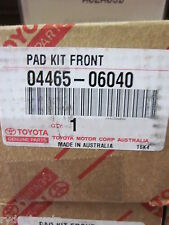 CAMRY AVALON AURION FRONT BRAKE PADS 8/02 ONWARDS ** TOYOTA GENUINE PARTS **