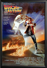 Back To The Future Movie Poster Framed (Black)