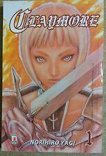 Claymore  1 di Norihiro Yagi ed.Star Comics NUOVO *di Norihiro Yagi*