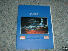 Academy Minicraft 1992 Catalog - 34 pages