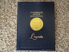 1996 Overbrook Regional High School Yearbook from Pine Hill New Jersey