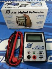 ACE Digital RC Voltmeter w/leads      ( A2703)