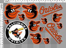 1set baltimore orioles baseball decal sticker print self die-cut vinyl