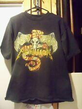 Rare Vintage 1992 Licensed METALLICA Band Shirt WHEREVER I MAY ROAM Mens LARGE