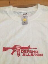 Vintage 90's Brandwashed Defend Allston AK-47 t-shirt XL
