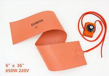 "Keenovo 6""X36"" 220V Guitar Side Bending Silicone Heat Blanket w/Controller ~200C"