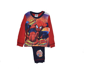 Boys Official Spider Man Spider power Pyjamas Pj Pj's 18 months to 5 years