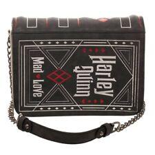 Harley Quinn DC Comics Mad Love Story Book Cosplay Clutch Hand Bag Purse