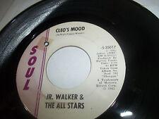 JR WALKER & THE ALL STARS 45 CLEO'S MOOD SOUL 35017 EXCELLENT GLOSSY NICE ORIG