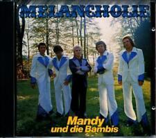 Mandy und die Bambis - Melancholie - CD