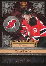 11/12 CROWN ROYALE LORDS OF THE NHL #22 ZACH PARISE DEVILS *20802