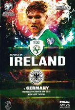 * REPUBLIC OF IRELAND v GERMANY (EURO QUALIFIER - 8th September 2015) *