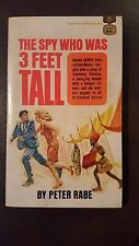 """Peter Rabe, """"Spy Who Was Three Feet Tall,"""" 1966, Gold Medal d1714, VG+, 1st"""