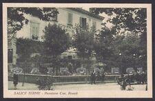 PAVIA SALICE TERME 62 PENSIONE RISTORANTE ROVATI Cartolina viaggiata 1926
