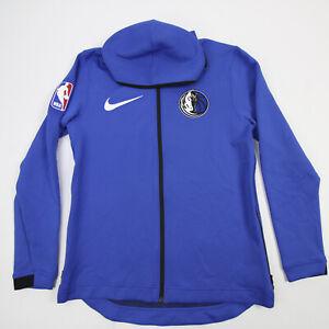 Dallas Mavericks Nike Dri-Fit Jacket Men's Blue Used