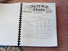 ANTIQUE INDIAN MOTORCYCLE 1937 - 52 FACTORY SERVICE SHOTS PARTS BUL BOUND 204 Pg