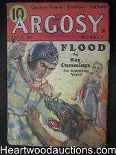 Argosy Jul 28, 1934 Classic  Sci-Fi Cover, Ray Cummings