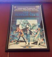 The Horror Star - Aussie Video Poster Insert - 1983 - Framed