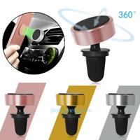Universal 360° Car Air Vent Mount Magnetic Cradle Holder Stand for Phone GPS