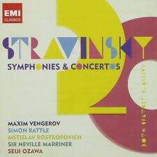 Stravinsky Symphonies & Concertos Maxim Vengerov Simon Rattle 2011 EMI CD