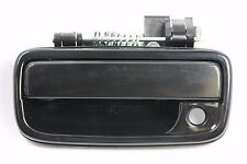 FRONT LEFT Outside Door Handle SMOOTH BLACK for 95-04 Toyota Tacoma Pickup Truck