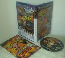 NARUTO SHIPPUDEN ULTIMATE NINJA 4 - PlayStation 2 PS2 Gioco Game Play Station