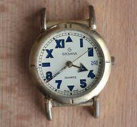 Grovana quartz swiss made watch 35 mm watch head PARTS