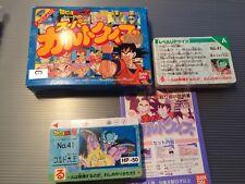 Cartes Dragon Ball Z Quiz Card Game #FullSet 100/100 Cards