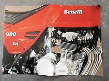 BENELLI 900 SEI PROSPEKT 1979 MOTORRAD ITALIEN OLDTIMER MOTORRAD