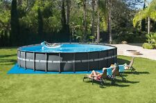 Intex Xtr Above Ground Pool 26' x 52� With Sand Filter, Cover, and Ladder