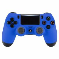 New Sony Playstation Dualshock PS4 Wireless Controller Custom Soft Touch Blue