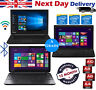 "Toshiba Laptop Cheap 15.6"" Intel Core i3 i5 i7 4GB 8GB RAM 1TB HDD SSD Windows10"