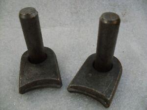 Weld On Gate Pins (Pair) Steel Gate Hinge Fence 19mm Pin