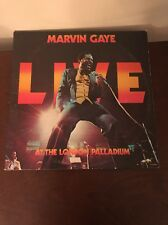Marvin Gaye Live At The London Palladium Vinyl 2 Set Record