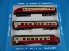 Marklin 3071 NS SBB TEE Diesel Train Set Edelweiss Express version 1 Red-Ivory