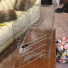 Pet Metal Folding Pet Crate Dog Crate Cage small 610mm x 440mm x 500mm