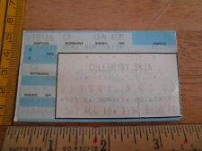 Celebrity Skin 1990 concert ticket Los Angeles ORIGINAL