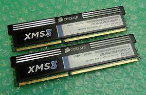 8GB Kit (2 x 4GB) Corsair XMS3 CMX8GX3M2A1600C11 DDR3 1600MHz Computer Memory