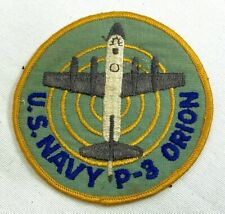 Vintage Us Navy P-3 Orion Aircraft Patch