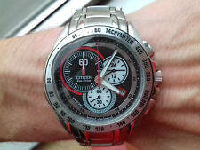 Citizen VINTAGE COLLECTION ECO-DRIVE AT0451-56F CHRONOGRAPH WATCH FULL NOS UHR