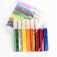 4/6/8/10X Arty Crafty Glitter Glue Pens Assorted Glitter Glue Craft Fun Art Pen