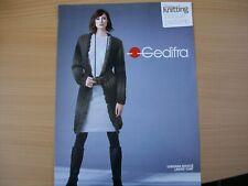 Gedifra Knit Pattern Ladies Long Outer Jacket